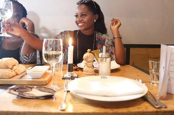 Anita Adetoye at lunch