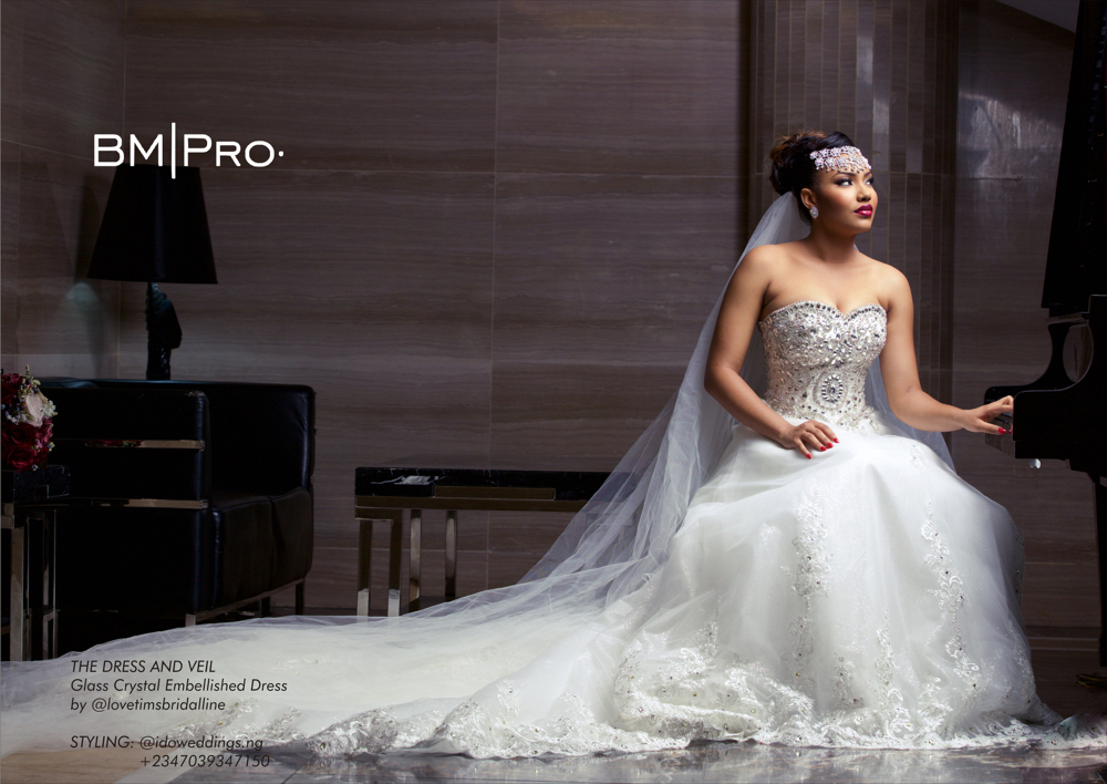Anna Ebiere Banner_Wedding Dress_BM Pro Covers May 2016 2