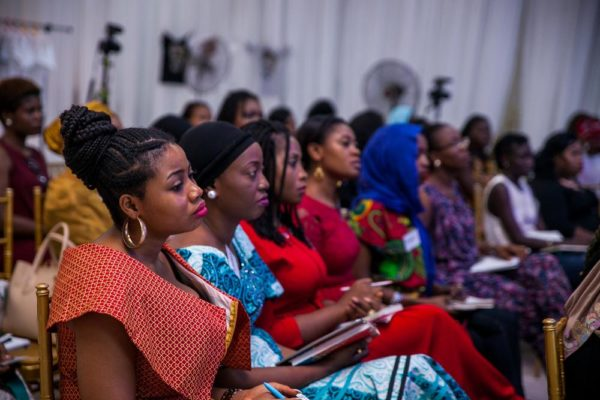 Attendees learning from Banwo & Ighodalo founder, Asue Ighodalo
