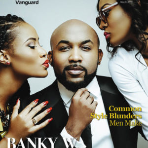 """Banky W is """"Inspired By Life"""" in Vanguard Allure Magazine's Latest Issue"""