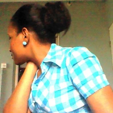 Bella Naija - How to air dry hair 2