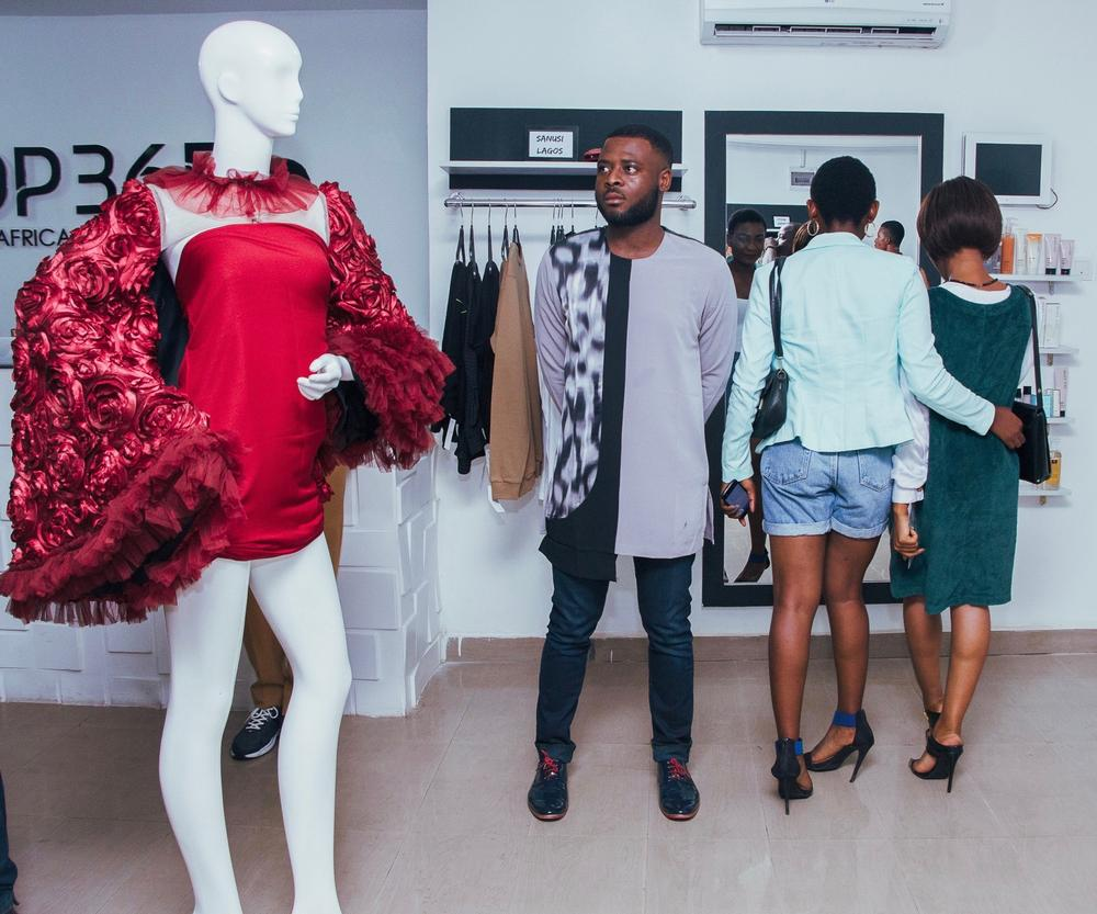 Belois Couture installation
