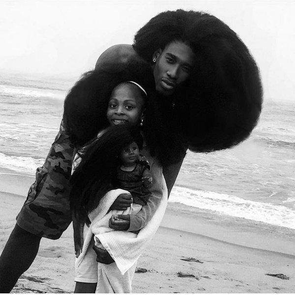 Benny Harlem and Jaxyn_Natural Hair_Afro_5