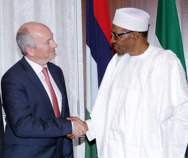 Buhari Receives SHELL Delegation2