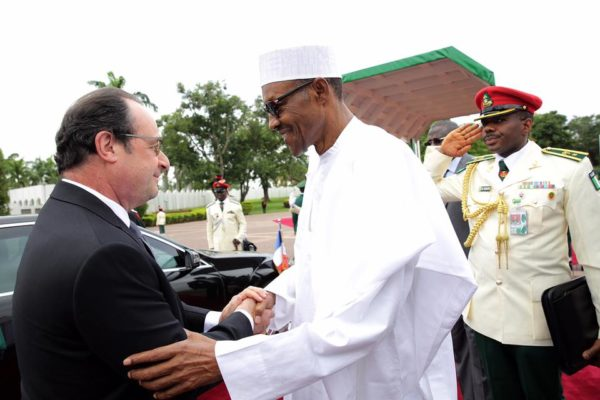 Buhari and Hollande1