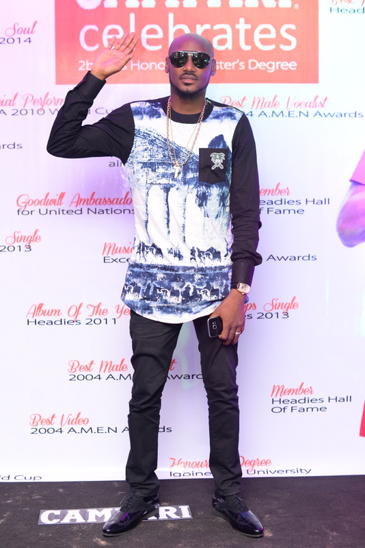 Campari Ambassador and Afropop artiste, Innocent Idibia