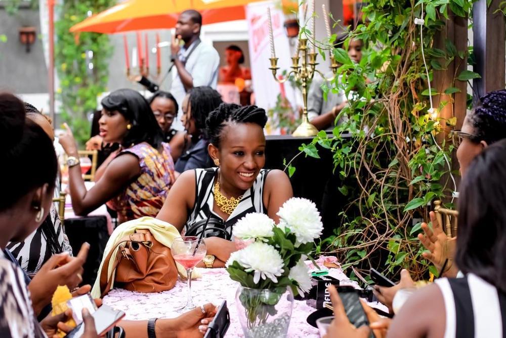Nkem Onwudiwe Maria Okanrende Michelle Dede Karen Young