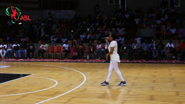 Chidinma Performing at ABL's Games
