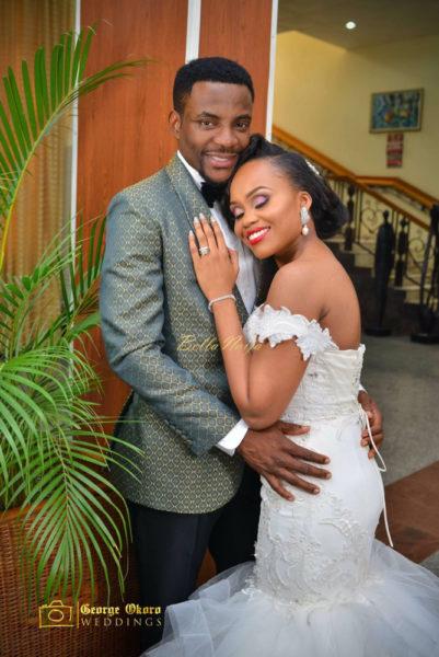 Cynthia Obianodo & Ebuka Obi-Uchendu's White Wedding in Abuja (Photo Credit: George Okoro Photography)