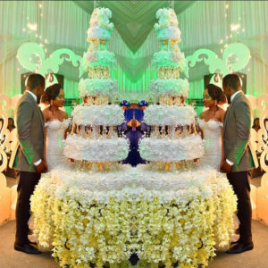 Cynthia & Ebuka Obi-Uchendu's Wedding | Photo Credit: George Okoro via Instagram.com