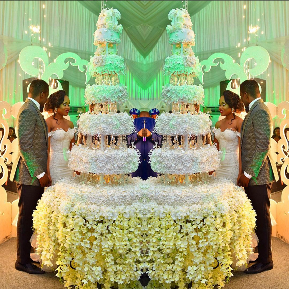 Naija Cake: BN Weddings: Say Yes To That Cake! Feast Your Eyes On