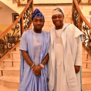 Davido and dad