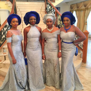 Davido's sister Coco Adeleke and Caleb Adaji Traditional Wedding_2