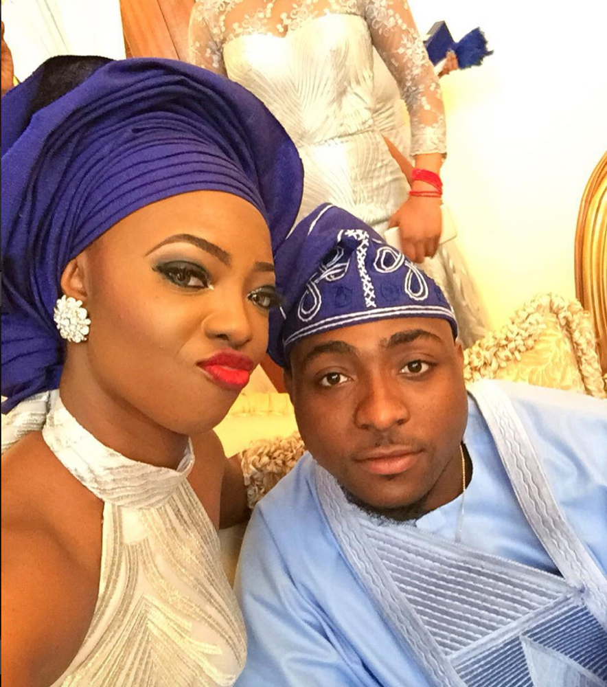 Davido's sister Coco Adeleke and Caleb Adaji Traditional Wedding_3