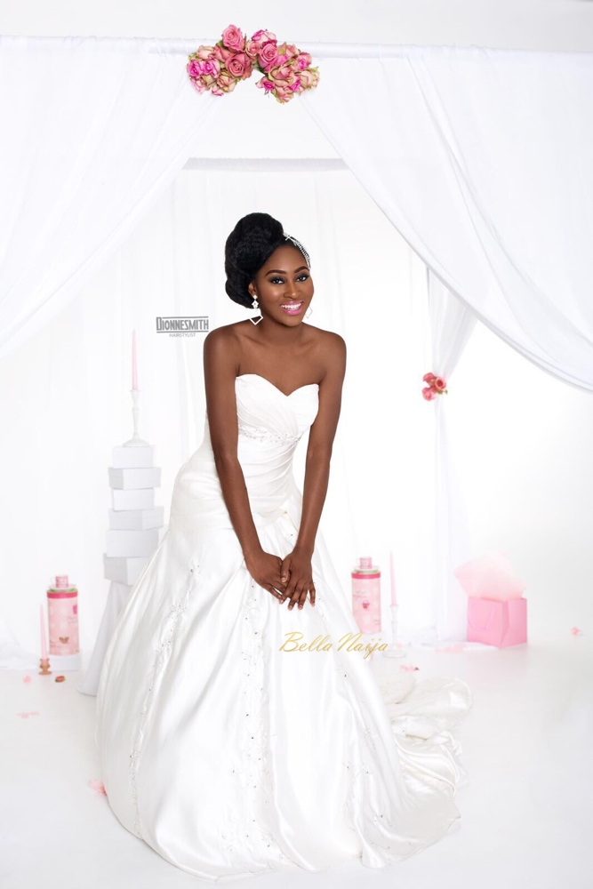 Dionne Smith Hair - Joy Adenuga Makeup - Ernest Simons Photography - BN Bridal Beauty - 2016 - BellaNaija - 4745