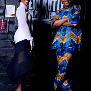 Eunice with Femi Kuti