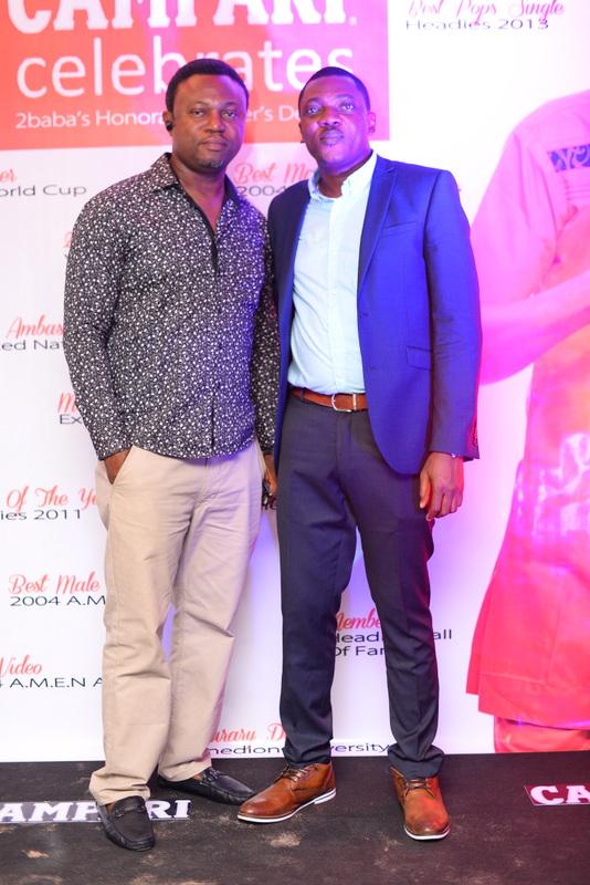 Efe Omorogbe and Abayomi Ajao