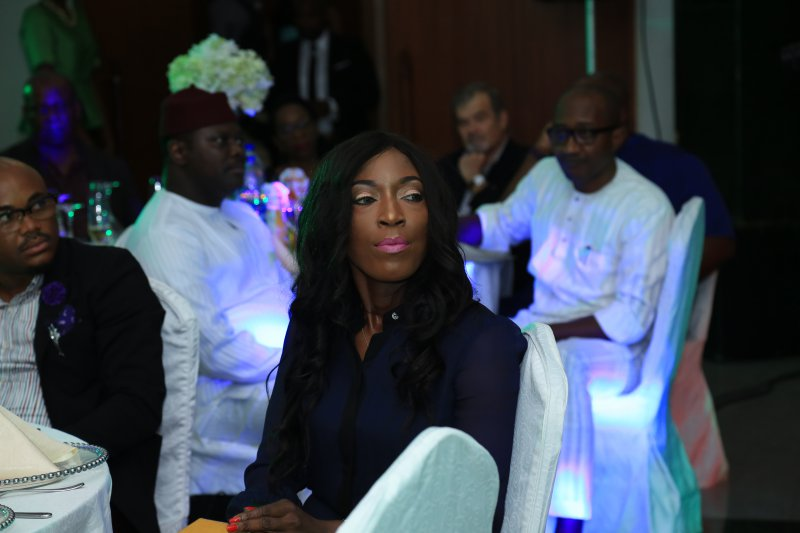 Nonny Ugboma , Executive Sectary MTN Foundation and Tobe Eze
