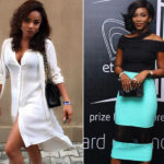 Genevieve Nnaji and Toke Makinwa