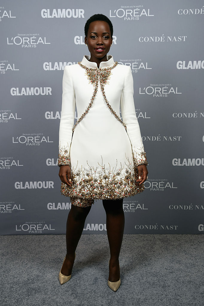 NEW YORK, NY - NOVEMBER 10: Actress Lupita Nyong'o attends the Glamour 2014 Women Of The Year Awards at Carnegie Hall on November 10, 2014 in New York City. (Photo by Dimitrios Kambouris/Getty Images for Glamour)