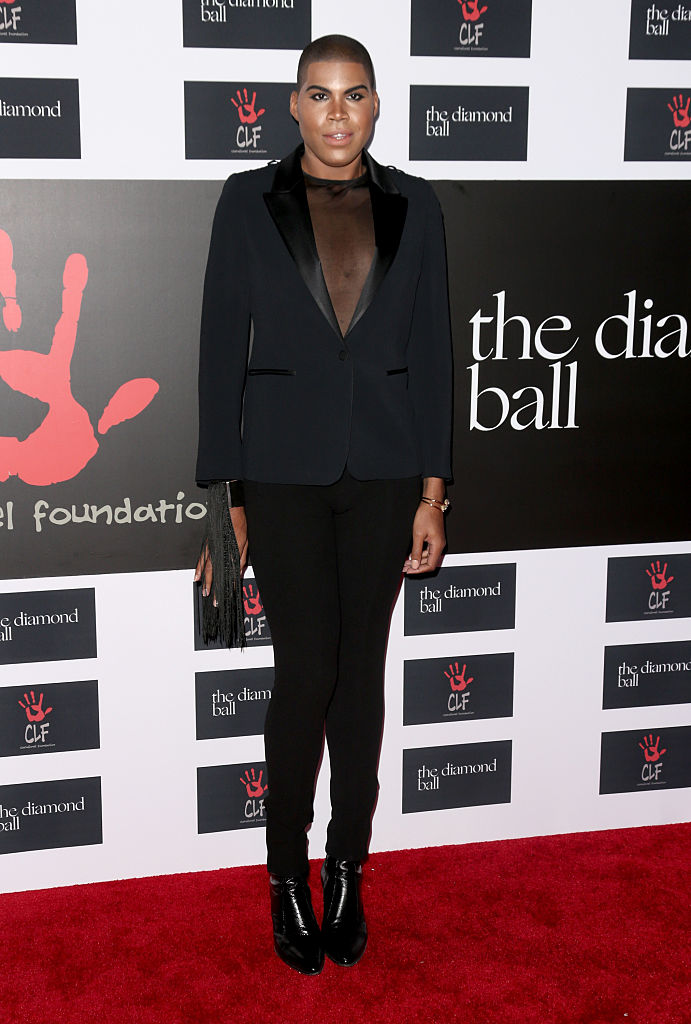 attends the 2nd Annual Diamond Ball hosted by Rihanna and The Clara Lionel Foundation at The Barker Hanger on December 10, 2015 in Santa Monica, California.