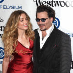 CULVER CITY, CA - JANUARY 09: Amber Heard and Johnny Depp attend The Art of Elysium 2016 HEAVEN Gala presented by Vivienne Westwood & Andreas Kronthaler at 3LABS on January 9, 2016 in Culver City, California. (Photo by C Flanigan/Getty Images)