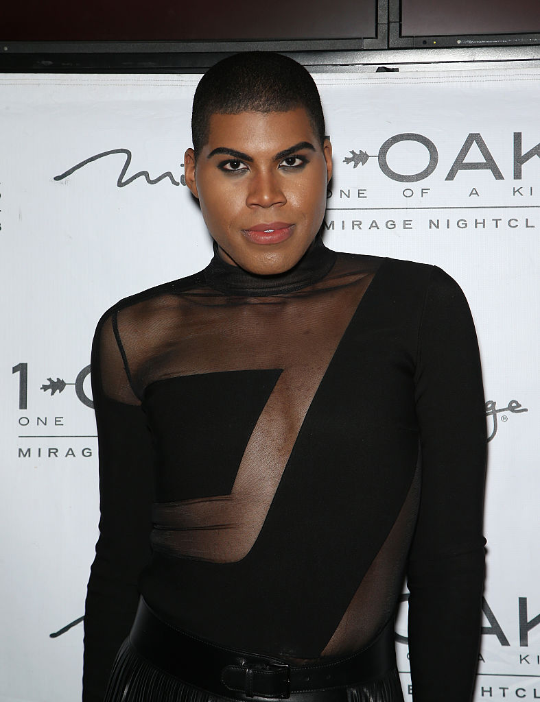 LAS VEGAS, NV - JANUARY 30: Television personality EJ Johnson arrives at 1 OAK Nightclub at The Mirage Hotel & Casino to celebrate Dorothy Wang's birthday on January 30, 2016 in Las Vegas, Nevada. (Photo by Gabe Ginsberg/Getty Images)