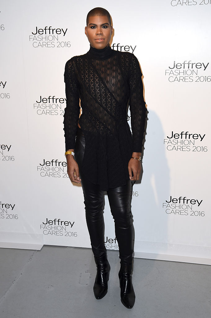 NEW YORK, NEW YORK - APRIL 04: EJ Johnson attends the Jeffrey Fashion Cares 13th Annual Fashion Fundraiser at the Intrepid Sea-Air-Space Museum on April 4, 2016 in New York City. (Photo by Nicholas Hunt/Getty Images)