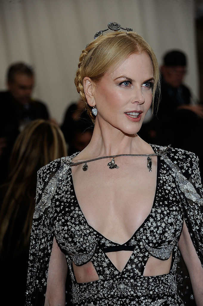 "NEW YORK, NY - MAY 02: Nicole Kidman attends ""Manus x Machina: Fashion In An Age Of Technology"" Costume Institute Gala at (Photo by Rabbani and Solimene Photography/Getty Images)"