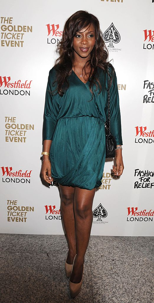 Fashion For Relief' Pop-Up Shop Opening, Westfield Shopping Centre, London, Britain - 05 Apr 2011, Genevieve Nnaji (Photo by Brian Rasic/Getty Images)