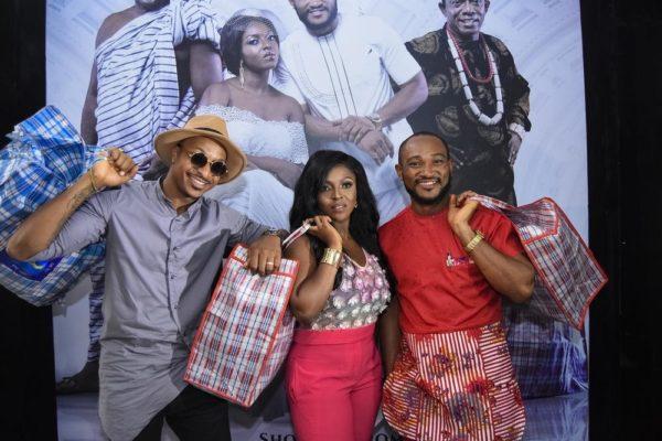 Ik Ogbonna, Yvonne Okoro & Blossom Chukwujekwu