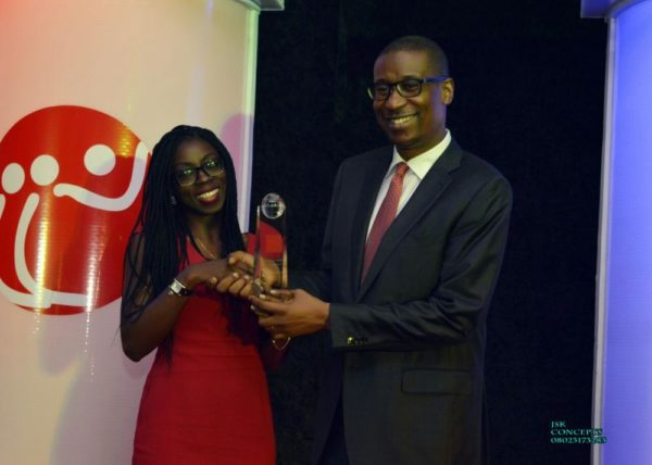 Konga Online Shopping Ltd won Best Workplace for Millenials awarded by His Excellency Honorable Minister of Industry, Trade and Investment Dr Okechukwu Enelamah