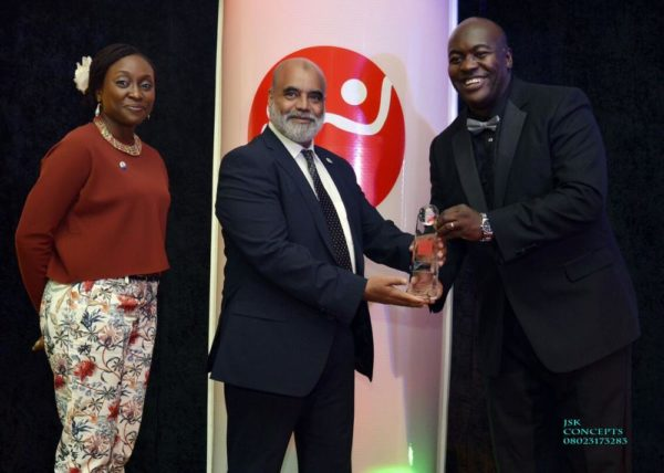 Managing Director Sanofi-Aventis Nigeria Ltd awarded by Mr Kunle Malomo