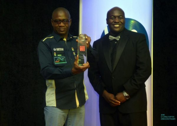 GMD Courteville Business Solutions Plc, BrightSpot Organization awarded by Mr Kunle Malomo