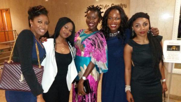 Ayanda Carter, Pamela Gadzama, Hannatu Mallum, Rose Keffas and Yvonne Okocha