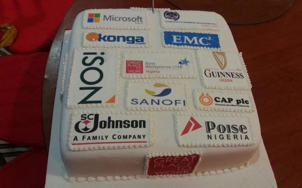 The Cake for Champions - 2016 Best Companies to Work for in Nigeria