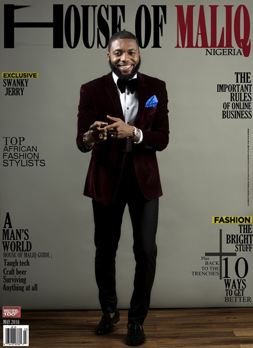 HouseOfMaliq-Magazine-Cover-2016-Swanky-Jerry-May-Edition-Fashion-Editorial- (1)