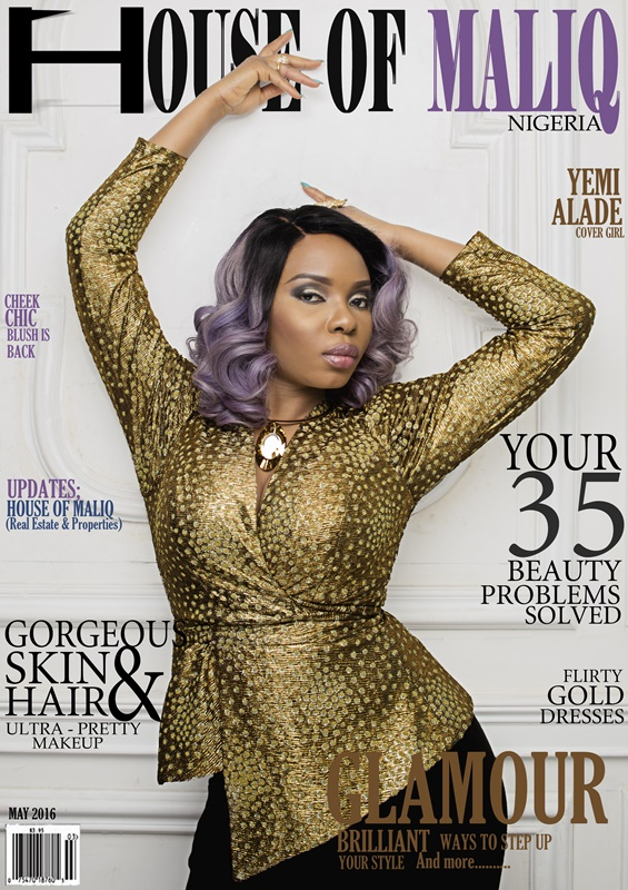 HouseOfMaliq-Magazine-Cover-2016-Yemi-Alade-May-Edition-Fashion-Editorial-