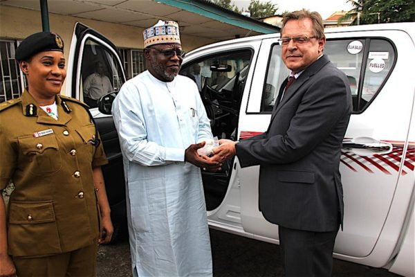 US Donates 11 Vehicles to NDLEA