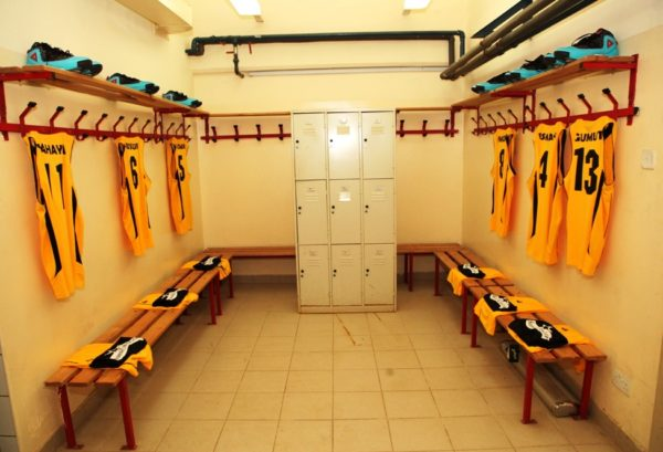 The Savannah Conference Dressing Room at the DStv Premier Basketball league All Star game