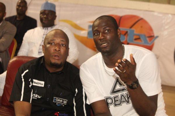 Former NBA star, Olumide Oyedeji and Martin Mabutho