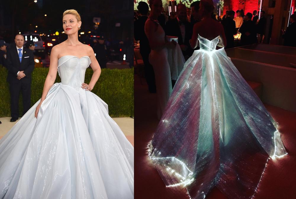 We Saved the Best for Last! Claire Danes our Best Dressed at the Met Gala in this Zac Posen ...