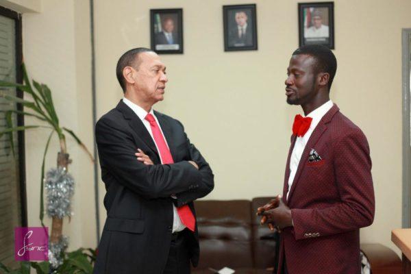 IMG_9760 Abdulahi Olatoyan meets Senator Ben Bruce - Photo by- Daniel Sync