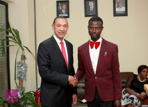 IMG_9764 Abdulahi Olatoyan meets Senator Ben Bruce - Photo by- Daniel Sync