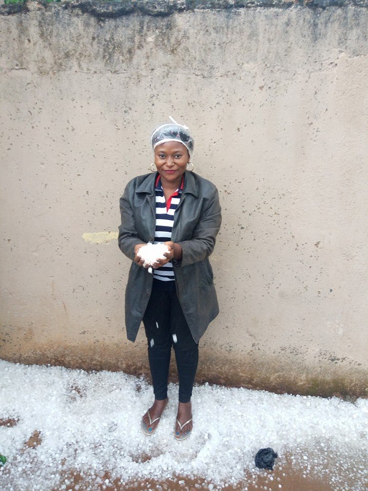 Jos In Plateau State Witnesses Ice Rain
