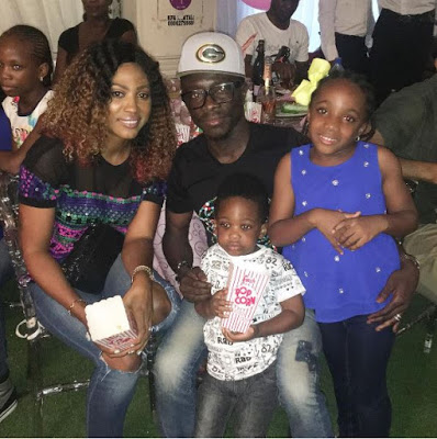 Imade-First-Birthday-6 Photos From Baby Imade's Star-Studded Birthday With Eniola Badmus, Peter Okoye & More Entertainment
