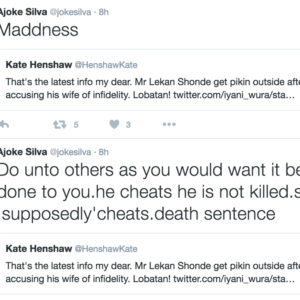 Joke Silva and Kate Henshaw on Lekan and Ronke Shonde