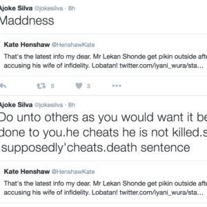 Joke Silva and Kate Henshaw on Lekan and Ronke Shonde