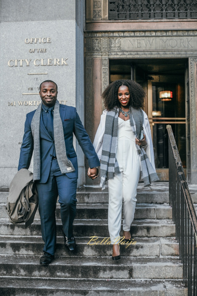 Joy - Obi - City Hall Wedding - BellaNaija - 2016