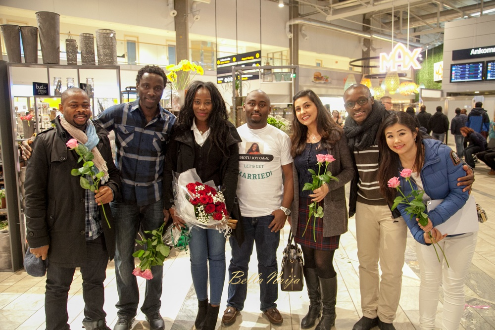 Joy and Joe - Airport Proposal -BellaNaija - 2016 - 1